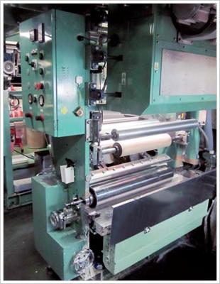 グラビア印刷溶剤ガス局所排気装置